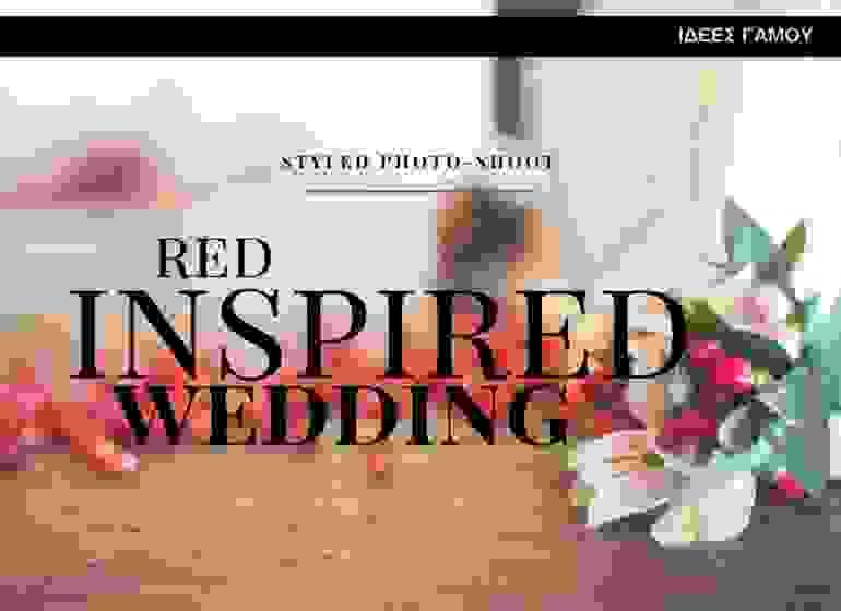 bridediaries.com | Red Inspired Wedding Styled Photo-Shoot