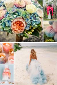 Watercolor Wedding - Γάμος σαν Πίνακας